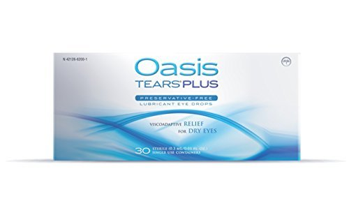 Oasis TEARS PLUS Preservative-Free Lubricant Eye Drops, 30 containers by Oasis