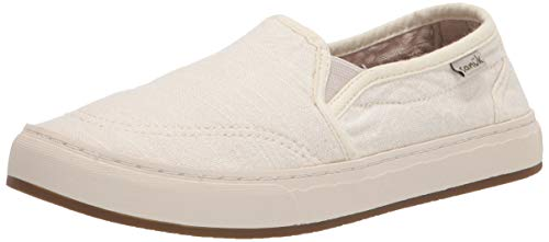 Sanuk Avery Hemp Washed White 7 B (M)