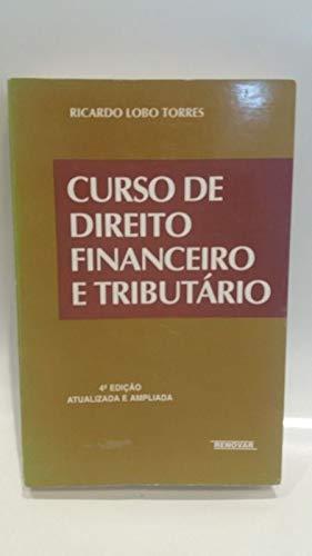 Curso De Direito Financeiro E Tributário - 10 Edição 2003
