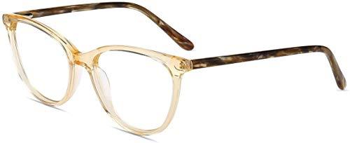 test Firmoo-Brille mit blauem Licht, Antireflex, Frauen ohne Rezept, Cateye-Computerbrille mit Blaufilter… Deutschland