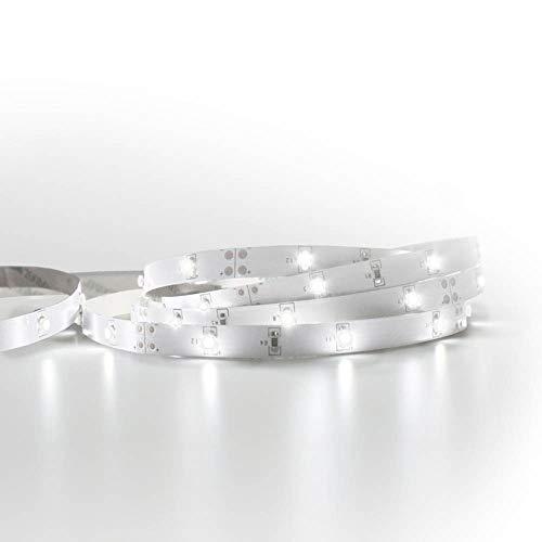 7h Sevenon - Kit tira led de 10 metros luz blanca 4000k con transfomador recortable y enlazable