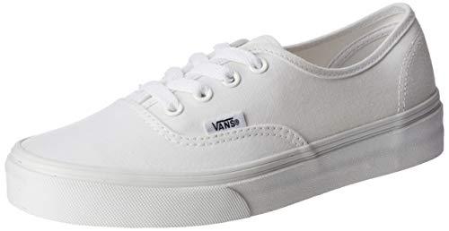 Vans VANS Authentic Skate Shoes 4 (True White), 5.5 Women/4 Men