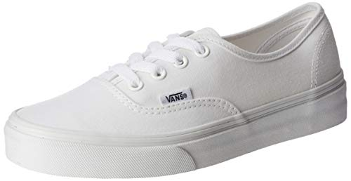 White Leather Vans Shoes for Men