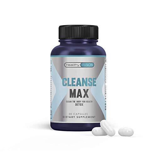 Colon Cleanser Detox | 15 Day Fast-Acting Formula with Probiotic & Natural Ingredients for Digestive Health, Bloating Support, Detoxify & Flush Toxins| 30 Detox Pills to Detoxify & Boost Weight Loss