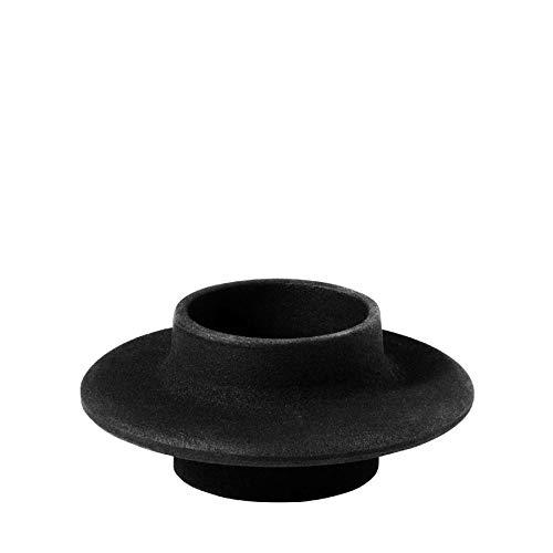 Normann Copenhagen 330305 theelichthouder, Andere, zwart, 10 x 10 x 4,3 cm, 1 stuk