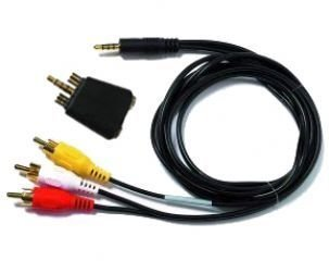 Archos AV400 Travel Cable Kit, AV In/Out