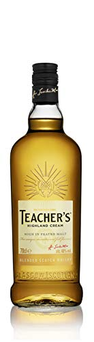 Teacher\'s Blended Scotch Whisky, voller und rauchiger Geschmack, 40{c202d1d776e53ea7cd03d30469e29c946ad2eba3bade499032bb3f67c3bd6ece} Vol, 1 x 0,7l
