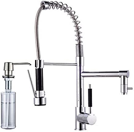 Centerset Swivel with Ceramic Valve Electroplated , Kitchen faucet