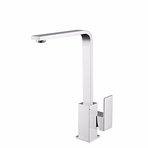 New SUNQIAN-Hot and cold water tap, sink faucet, 360 degree rotation hot and cold water tap