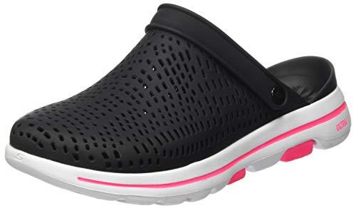 Skechers Damen GO Walk 5-111103 Clog, schwarz, 41 EU