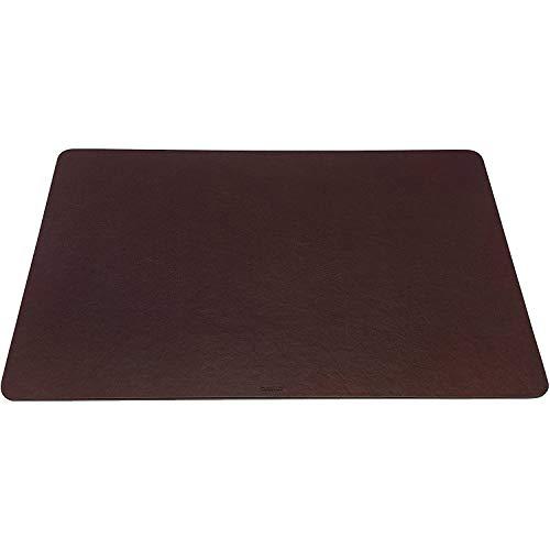 Maruse - Vade de sobremesa (medidas: 65 x 40 cm, fabricado en Italia) - marrón