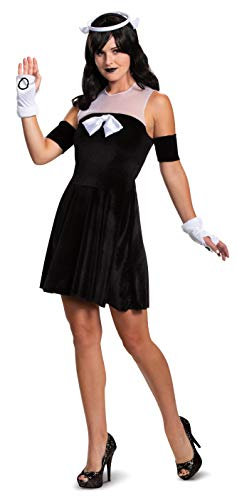 Disguise Bendy and The Ink Machine Womens Alice Angel Classic Fancy Dress Costume Medium