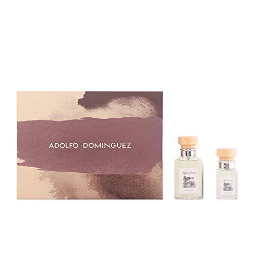 Adolfo Dominguez Agua Fresca Lote Eau Pulvérisée Set Cologne + Lotion pour Corps + Mini Eau de Cologne 150 ml