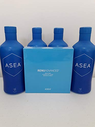 ASEA REDOX Cell Signaling Supplement (4X32 fl. oz. Bottles) with Gift Box