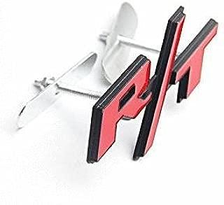 1pcs Red R/T Front Grille Emblem Fit For Dodge Car Model