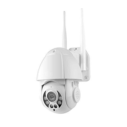 Cámara De Seguridad Cámara IP Al Aire Libre, WiFi Inalámbrico, Detección De Movimiento, Seguimiento Automático, con Visión Nocturna, Acceso Remoto, Cámara Inalámbrica para La Seguridad del Hogar