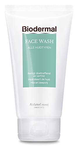 Biodermal Face wash - Milde gezichtsreiniger en make-up remover - 150ml