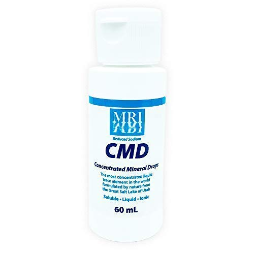 CMD | Ionic Magnesium Drops and 70 Trace Minerals | 60ml