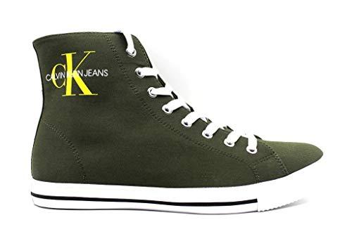 Calvin Klein Jeans August, B4S0671, groen, sneaker, voor heren, casual