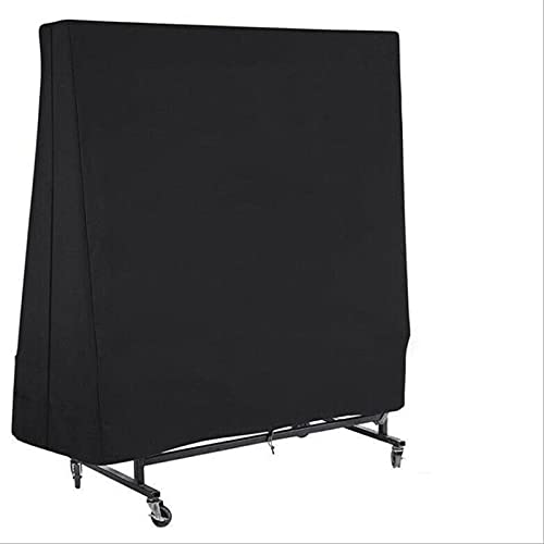 LICHAO Cubierta de mesa de tenis de mesa, cubierta de billar, cubierta de tenis al aire libre, cubierta de tela Oxford plegable, protección solar impermeable a prueba de polvo