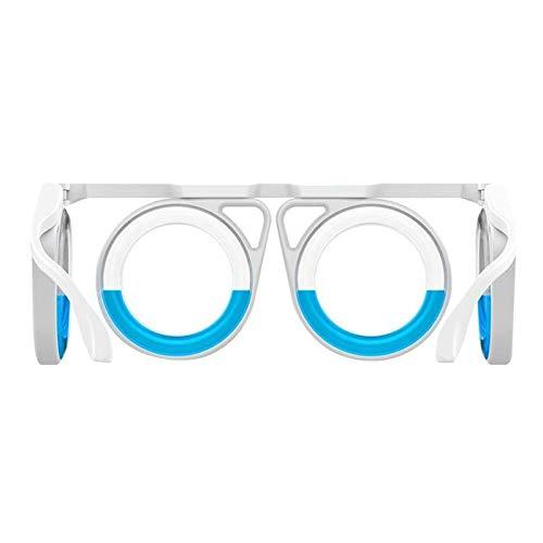 ZYBB Gafas De Enfermedad De Movimiento   Accesorios para Cruceros contra Las Náuseas   Gafas Inteligentes Plegables   Mareo por Mareo Elevado, Mareo Desmontable para Viajar