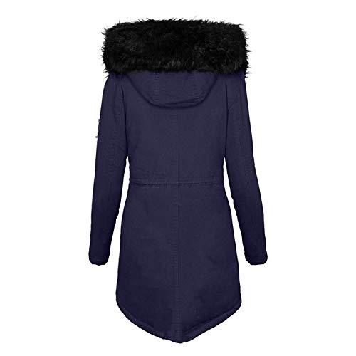 DAY8 Damen Herbst Und Winter Warme Und Dicke Mode Lässig Bequem Mode Solid Women...