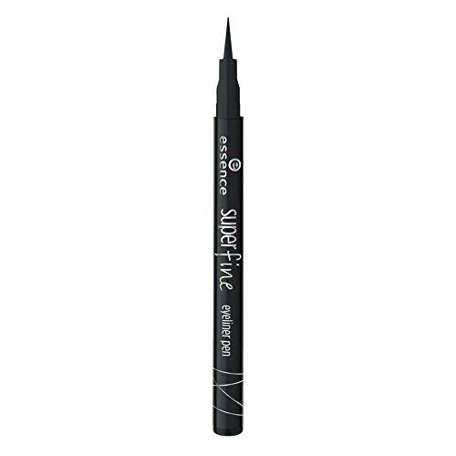Essence - eyeliner formato rotulador super fino - 01 deep bl