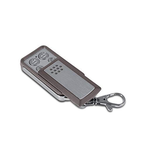 Avidsen - Télécommande - 4 Boutons à clapet-Compatible Extel, Gris, compatible avec la plupart des motorisations avidsen et extel, Autonomie de 2 ans - 114253