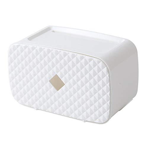 LIYG Papel higiénico Libre de la Caja de perforación higiénico Impermeables Soporte de Papel
