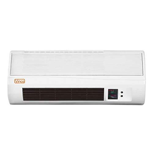 Radiatore/Generatore di aria calda a parete/Termoconvettore/Stufa elettrica 2000W Vinco - 70328