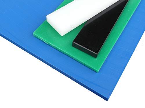 Platte aus PE-HD, 1000 x 495 x 6 mm natur (weiß) Zuschnitt PE alt-intech®
