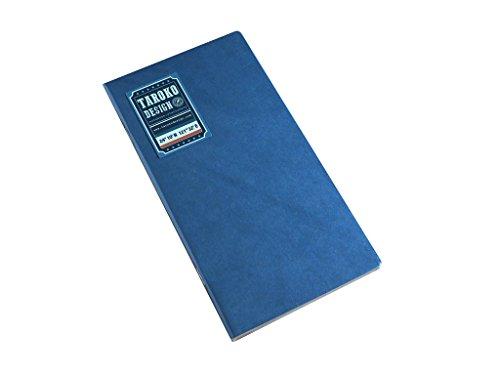 Taroko Design Tomoe River Regular Size Notebook, 2-Pack, Blank, White