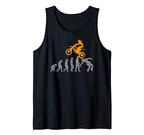 Motocicleta Pit-bike Dirtbike Motocross Evolución Pitbike Camiseta sin Mangas