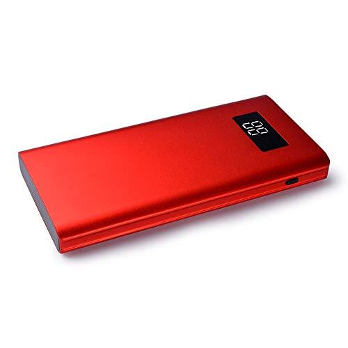 SACYSAC 10000mAh powerbank, draagbare oplader met dubbele USB-uitgangspoort voor snel opladen, gebruikt voor smartphones, tablets, enz.