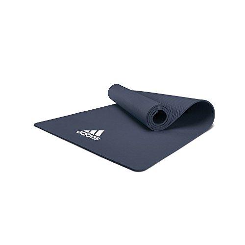 adidas ADYG-10100BL Colchonetas de Yoga, Adultos Unisex, Azul, 8 mm