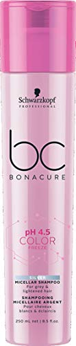 Schwarzkopf BC Bonacure pH 4.5 Color Freeze Silver Shampoo, 1er Pack (1 x 250 ml)