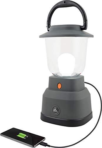 EcoSurvivor 39616 LED Camping / Emergency Lantern Battery Powered 800 Lumen 200 Hour Run Time Gray