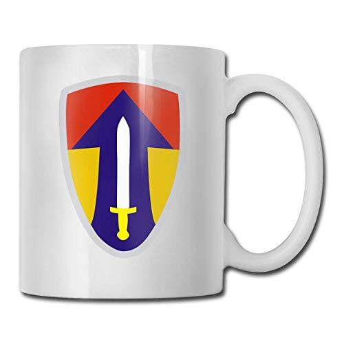 N\A Guerra de Vietnam Ejército de los Estados Unidos Taza de café Personalizada Taza de té Regalos Blancos T Regalos para el día de la Madre, Regalos para el día del Padre, Regalos pa