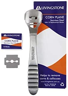LIVINGSTONE CORN AND CALLUS PLANE CUTTER WITH 10 BLADES EACH