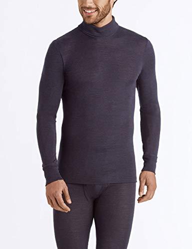 Hanro Woolen Silk męska koszulka z golfem, termoaktywna górna część