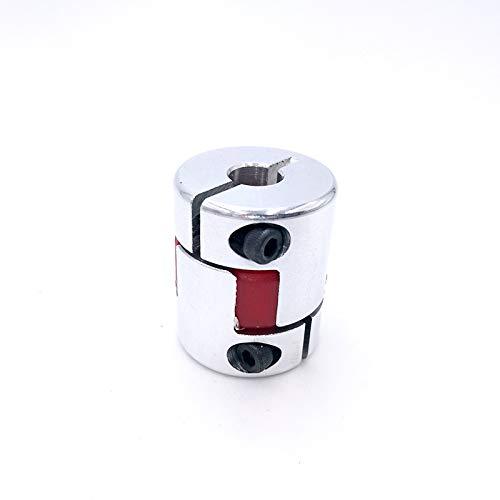 Without brand EG-BIANSU, 1pc D25L30 Shaft Coupler Flexible Jaw Spinne Plum Kupplungswelle Coupler 6.35/8 / 9,5/10/12 mm Schrittmotor (Size : 4x6)