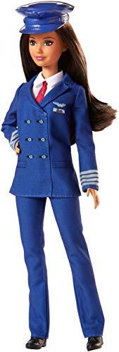 Achetez la Barbie Carrières Poupée Pilote Avion - 4