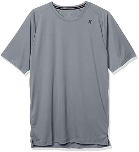 Hurley Men's Standard Dri-fit Long Sleeve Sun Protection +50 UPF Rashguard Sunshirt