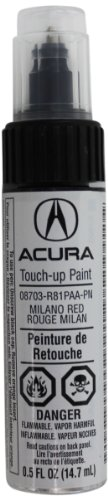 Genuine Acura Accessories 08703-R81PAA-PN Milano Red Touch-Up Paint Pen - 0.5 fl. oz.