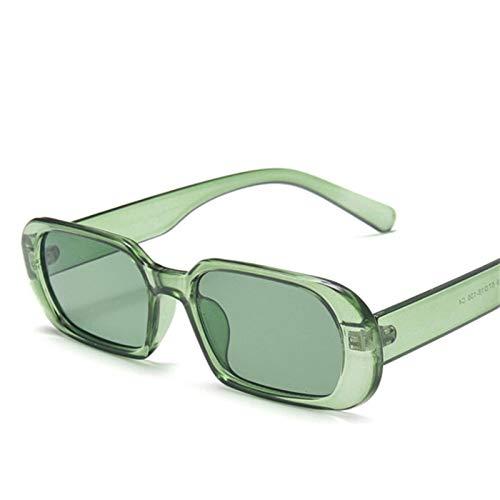 N-B Pequeñas Gafas De Sol De Las Mujeres De La Moda Ovalada Gafas De Sol Hombres Vintage Verde Rojo Gafas Señoras Viajar Estilo U V400 Gafas