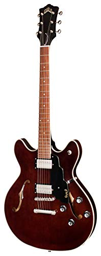 Guild Guitars Starfire I DC Semi-Hollow Body Electric Guitar, Vintage Walnut, Double-Cut, Newark St. Collection