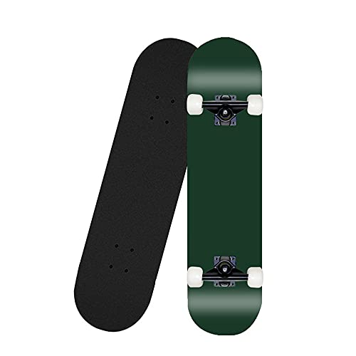 Z-Meng Skateboard, Versión Completa De Skate Profesional De 31 Pulgadas, para Niñas, Niños, Adecuado para Niños con 6 A 12 Años.