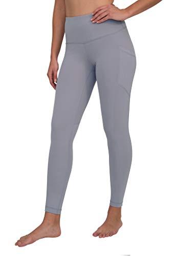 90 Degree By Reflex Womens Power Flex Yoga Pants - Winter Violet - Large