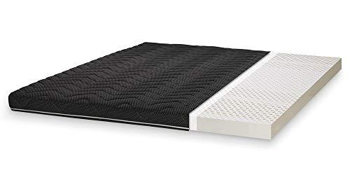 Primo Line Black Label Matratzentopper 180x200 aus Latex H2 RG 65 (bis 95 kg) Bett-Topper-Auflage für Boxspringbett