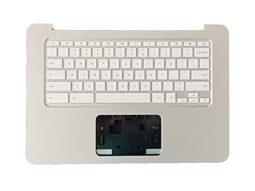 HuiHan Reemplazo para HP 14X 14-X 14-X007tu 14-X008tu 14-X010nr Series Palmrest US Keyboard 787734-001